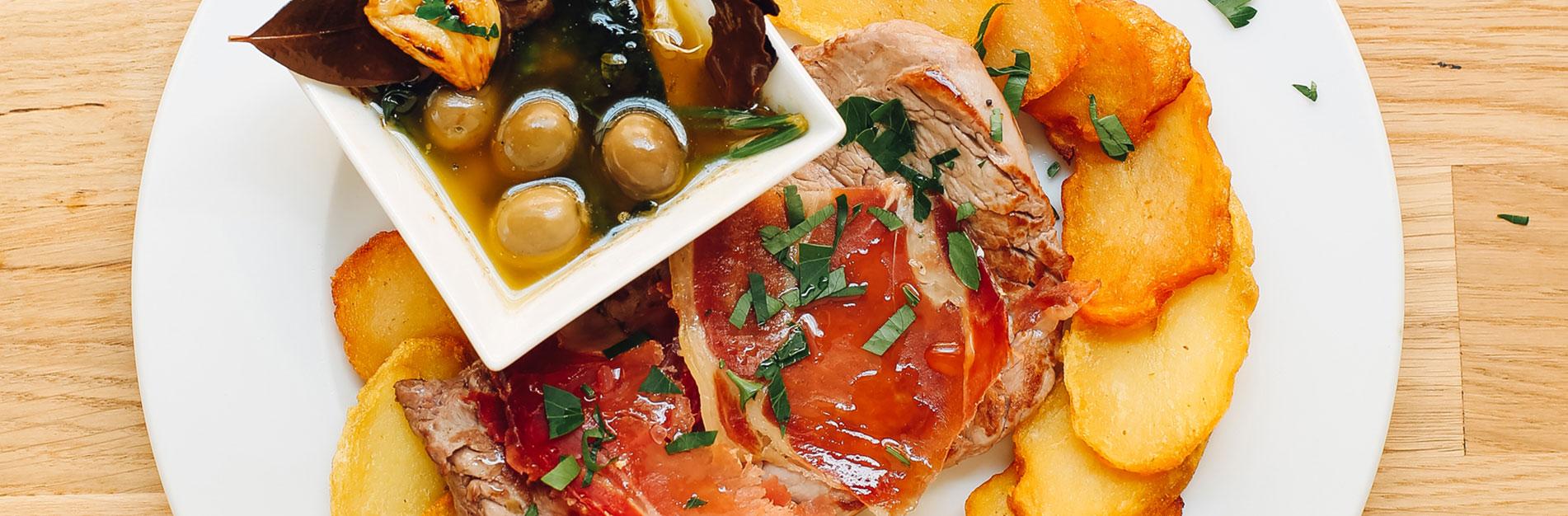 "Steak""Portuguesa"""